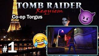 "[TRLE] Tomb Raider Requiem - Co-Op Torgus - LvL1 [1/4] - ""Mrok i wino"""