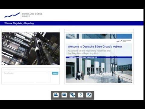 An update on the regulatory roadmap - MiFID II webinar hosted by Deutsche Börse Group