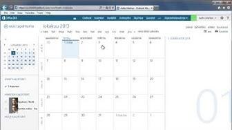 Office 365 - Kalenterin peruskäyttö