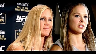 Holly Holm Comments on Ronda Rousey's Suicide Remarks
