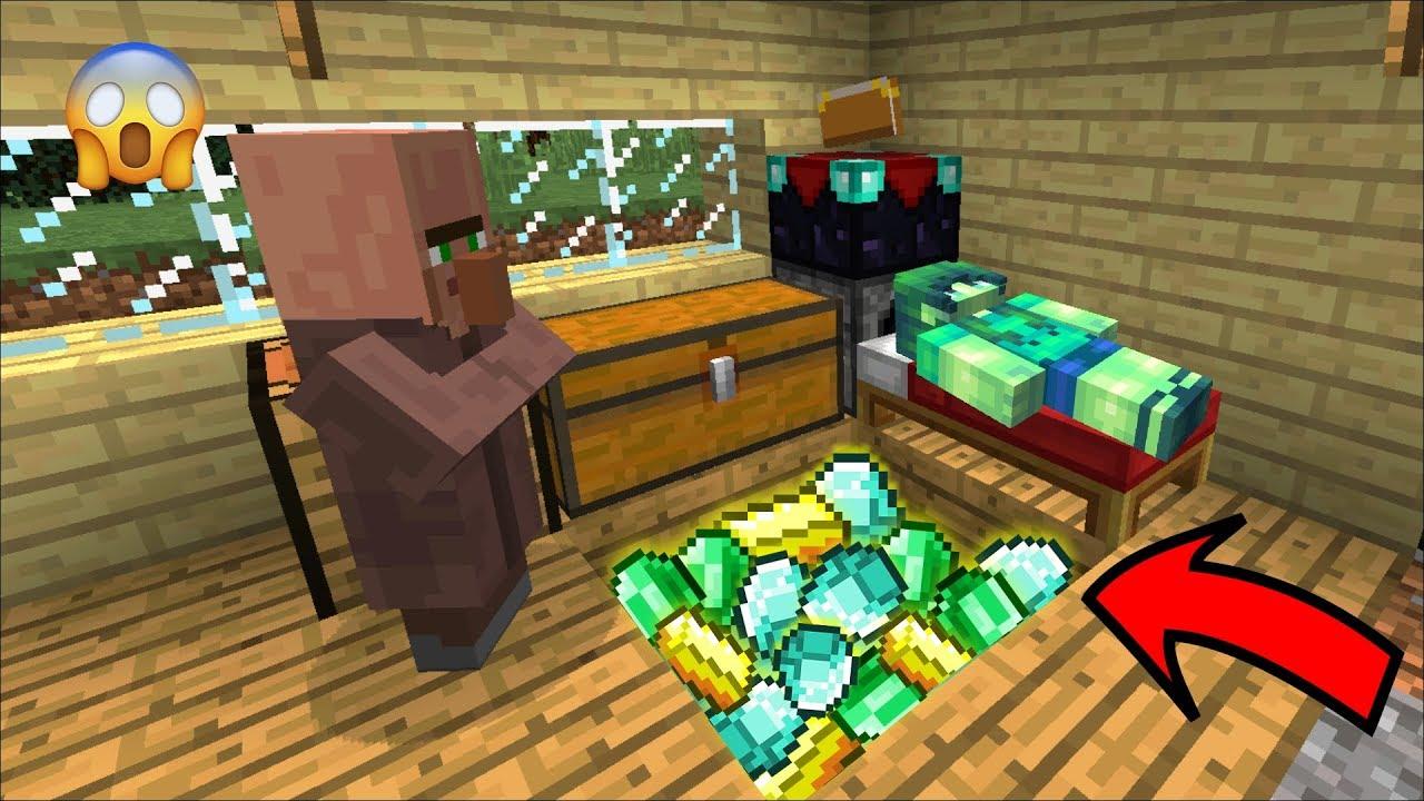 Minecraft Zombie Girl Has Her Hidden Diamond Secret Room Stolen By