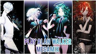 ~Nightcore~ PLAY [Alan Walker Megamix]
