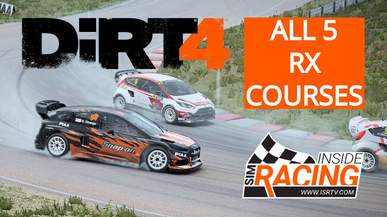 dirt 4 pc test drive we race all 5 rallycross courses youtube. Black Bedroom Furniture Sets. Home Design Ideas