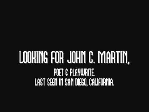 Looking For John C. Martin - San Diego, California