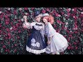 Classic Lolita Casual Clouds and Star Rain Prints Summer Midi Dress and Ballet Underdress