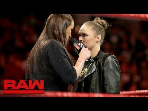 Ronda Rousey demands an apology from Stephanie McMahon: Raw, Feb. 26, 2018