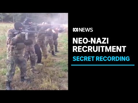 Australians recorded spruiking far-right credentials to global Neo-Nazi group | ABC News