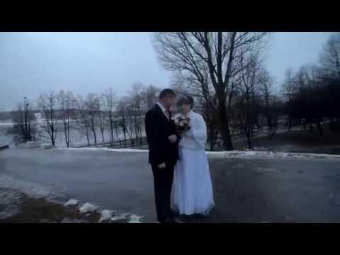 Падение с горы во время свадьбы