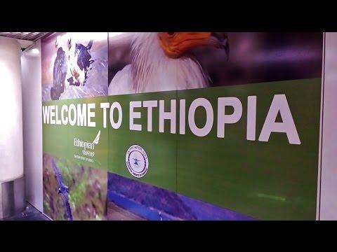 ETIÓPIA - Conexão da viagem Africa-Frankfurt em Addis Ababa