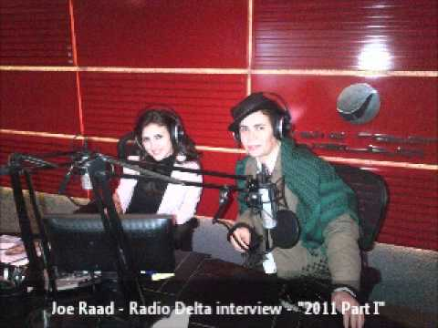 Joe Raad   Radio Delta interview   2011 Part I