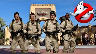 Ghostbusters Return To Universal Studios Orlando! Remembering the Spooktacular Show & the Firehouse