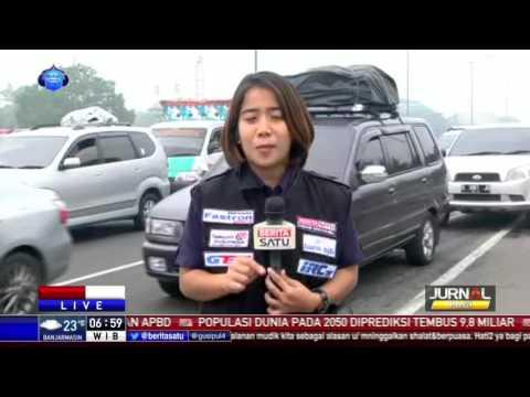 Kemacetan Bertambah Parah di Ruas Tol Jakarta-Cikampek