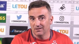 Carlos Carvalhal Full Pre-Match Press Conference - Swansea v Stoke - Premier League