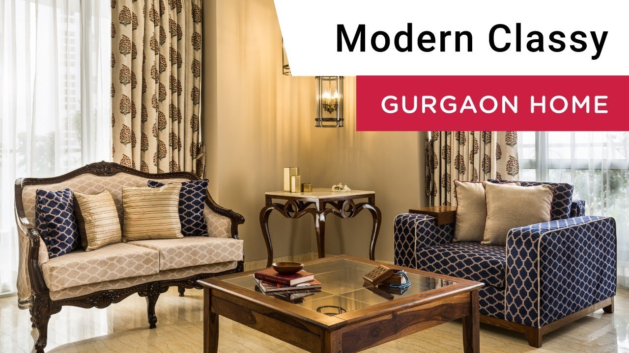 Interior design in gurgaon modern well curated home