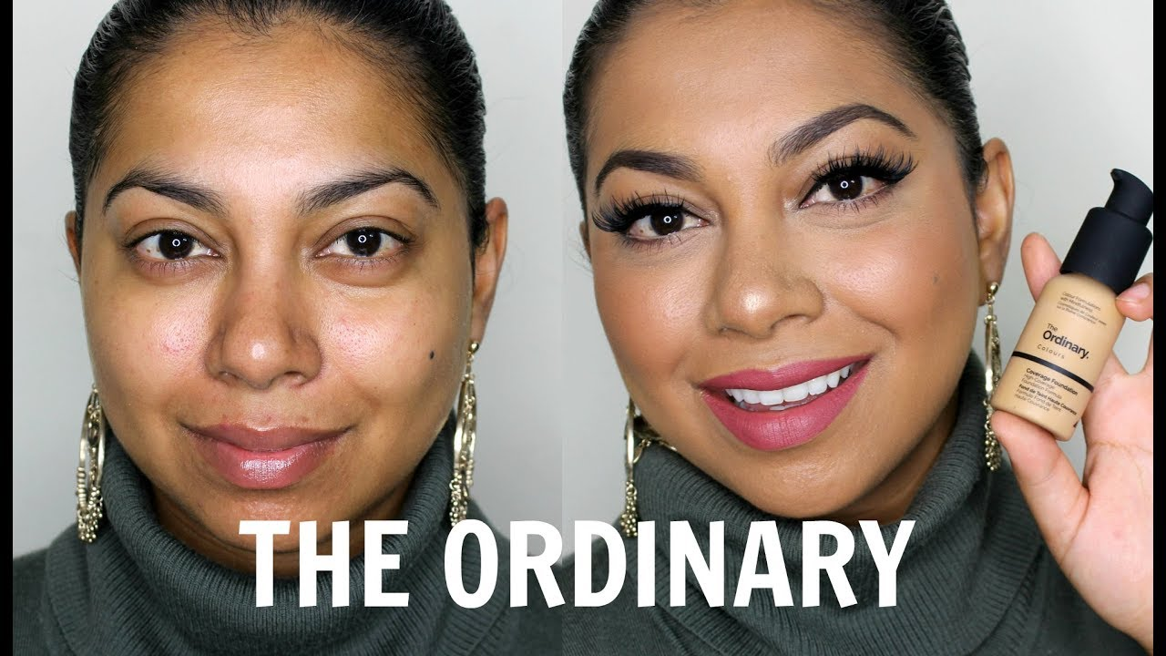 The Ordinary Coverage Foundation Review Demo Missbeautyadikt Youtube