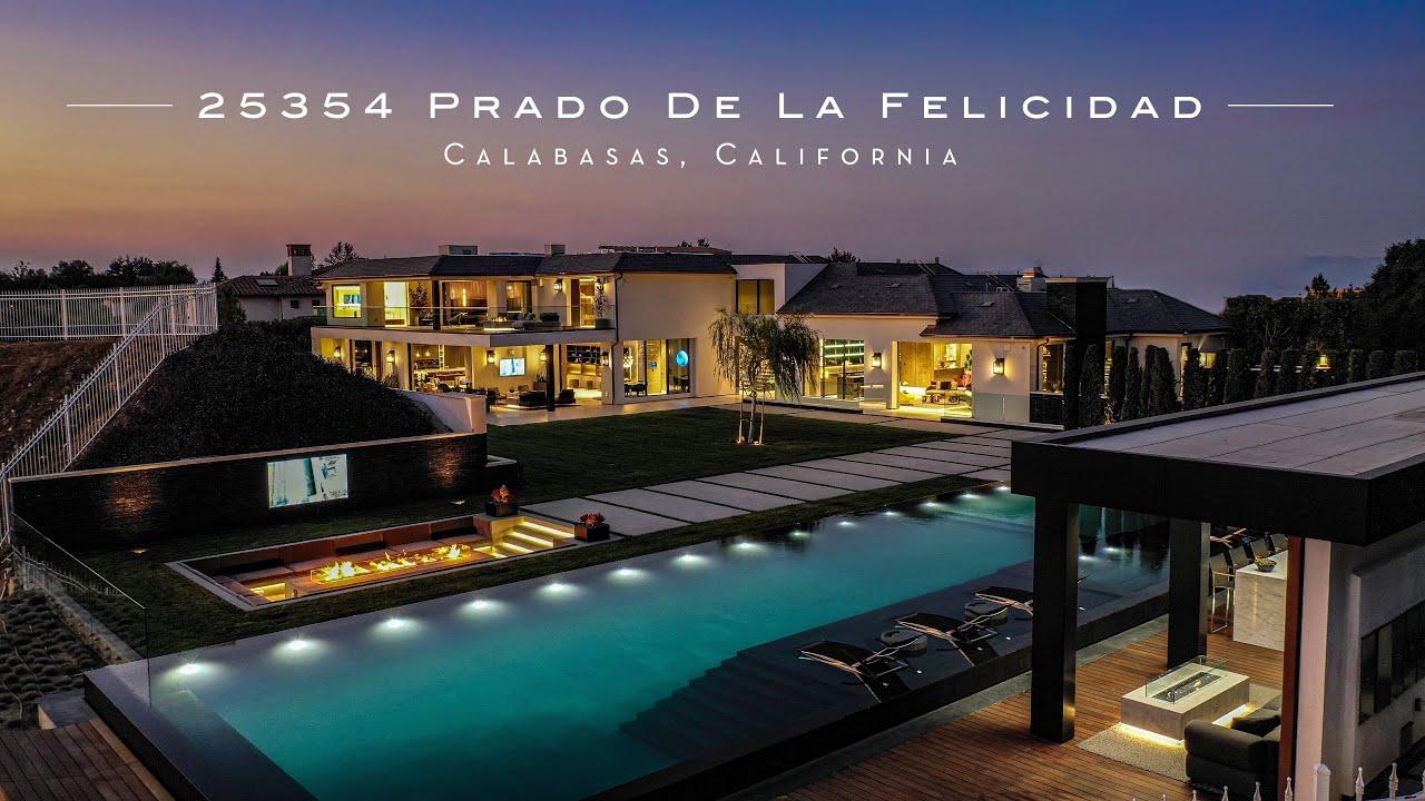 $37,999,000 Calabasas Hillside Estate - 25354 Prado de la Felicidad