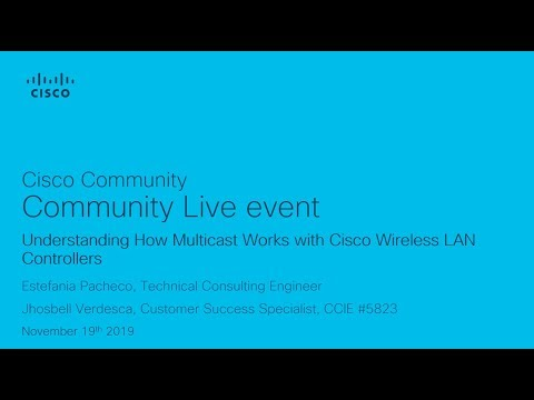 Understanding How Multicast Works With Cisco Wireless LAN Controllers