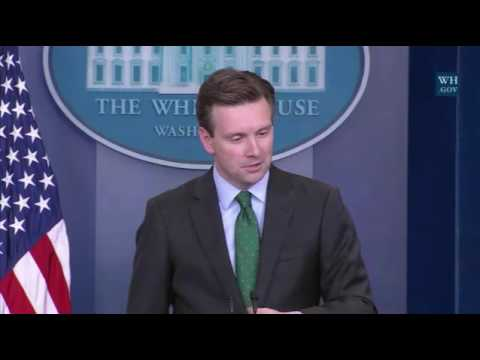 Josh Earnest Goes Off on President Elect Donald Trump