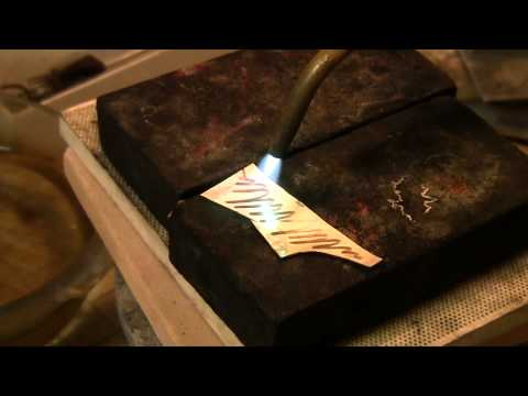 How to Anneal Silver Sheet | Jewelry Tips with Nancy