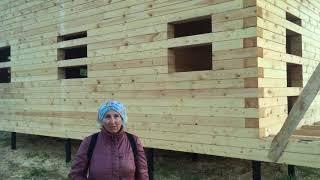 видео Строительство домов из бруса в Бронницах