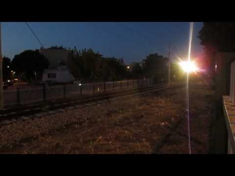 TCDD DE 24406 yolcu treni akşam üzeri