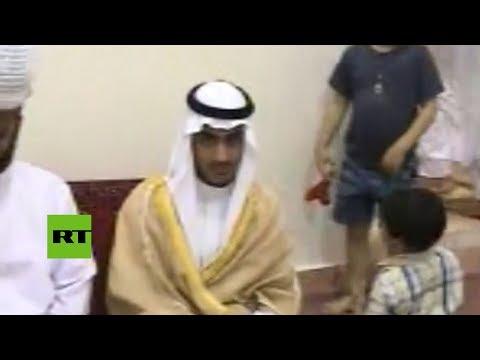 La CIA publica un video del hijo mayor de Osama Bin Laden
