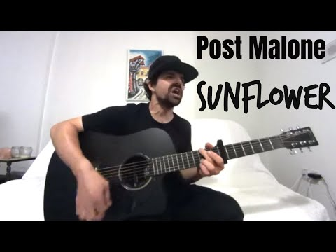 Sunflower - Post Malone Swae Lee [Acoustic Cover by Joel Goguen]