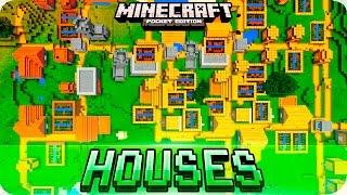 Minecraft PE Seeds - Huge VILLAGE Seeds with Blacksmith Houses - MCPE 0.16.0 / 1.0 / 0.17.0