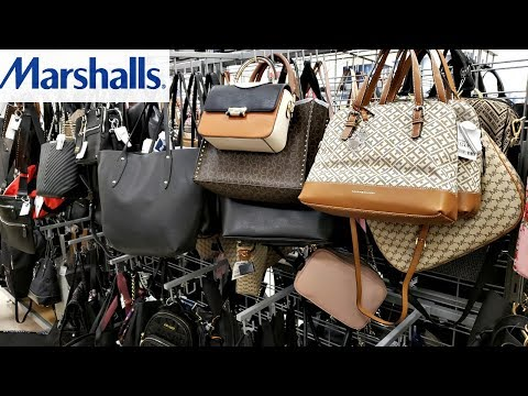 MARSHALLS HANDBAGS PURSE  WALK THROUGH 2018