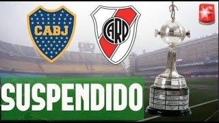 SUSPENDIDO! BOCA vs RIVER | SUPERCLÁSICO | FINAL COPA LIBERTADORES 2018