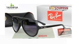 Обзор солнцезащитных очков Ray Ban с Aliexpress!!!