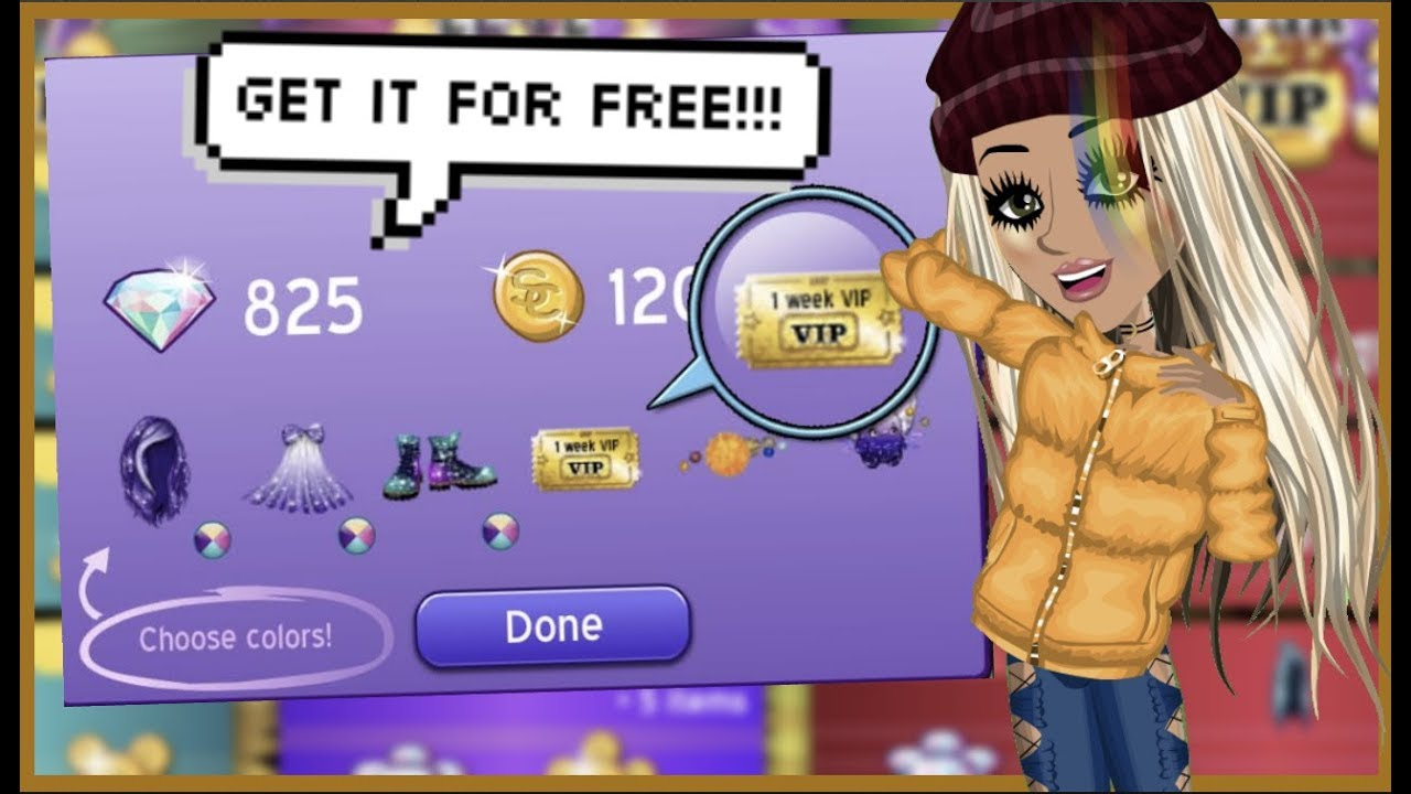 how to get free year star vip on msp!!! (2018 tutorial)