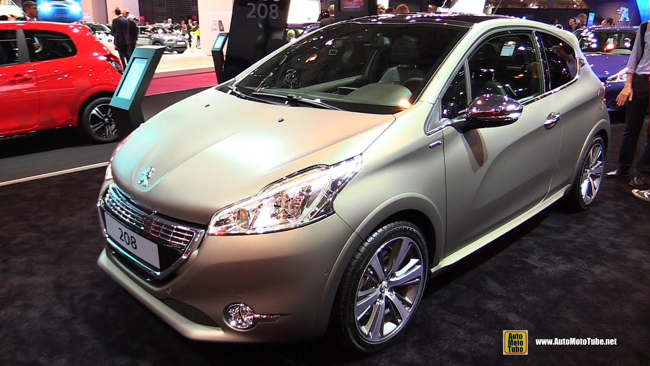 2015 peugeot 208 xy jbl 1 6l exterior and interior walkaround 2014 paris auto show youtube. Black Bedroom Furniture Sets. Home Design Ideas