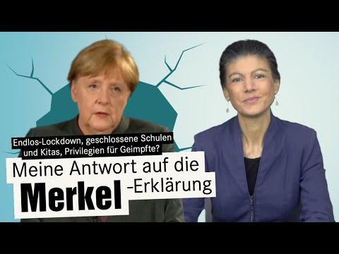 Wagenknecht contra Merkel: Warum auch der Lockdown krank macht