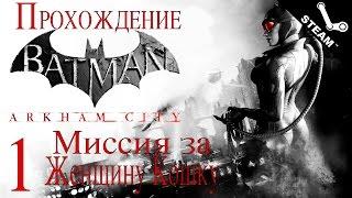 Прохождение Batman Arkham City - Миссия за Женщину Кошку [#1] PC [1080p]