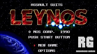 Assault Suit Leynos - Sega Mega Drive - Intro and Gameplay [1080p 60fps]