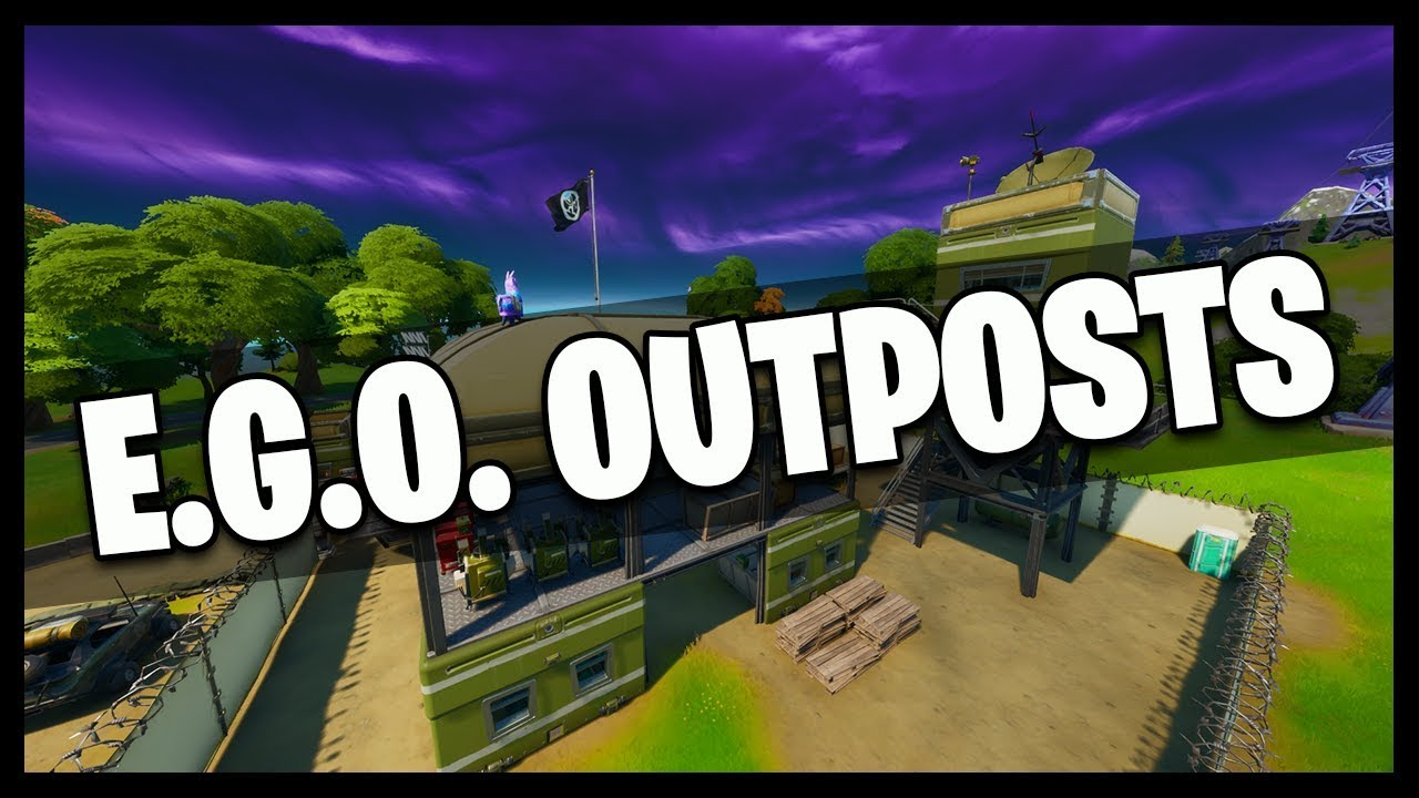 Fortnite All E G O Outpost Locations Chapter 2