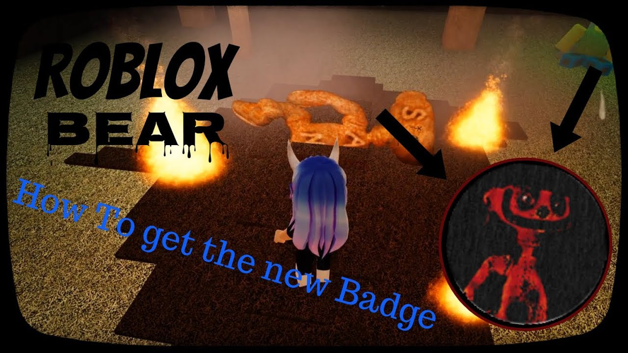 How To Get The Cheese Factory Badge Roblox Bear Youtube