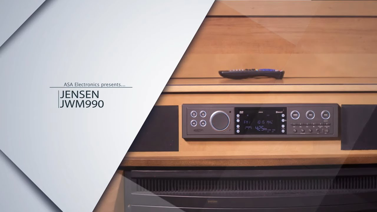 Jwm990 Theater Style Wall Mount Stereo Youtube