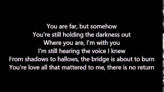Beyond the Black - When angels fall - Lyrics