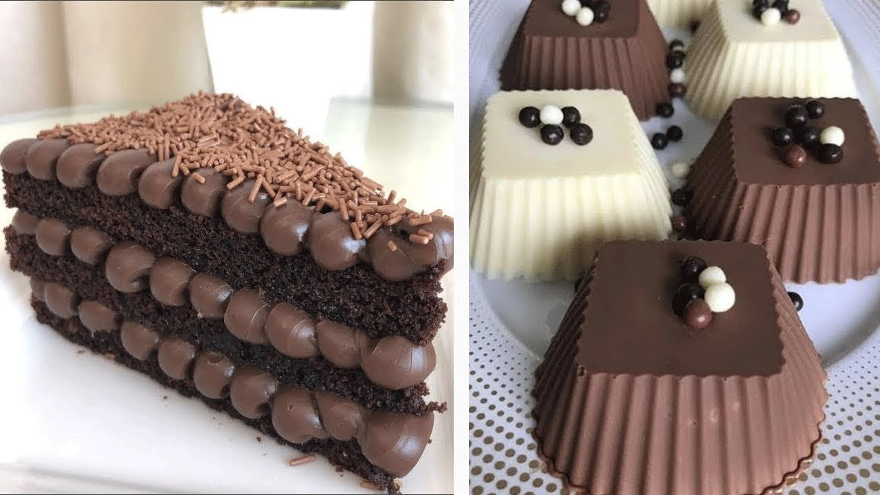 So Yummy Dark Chocolate Cake Hacks Ideas 💖 Delicious Cake Decorating Recipes | So Easy Cake