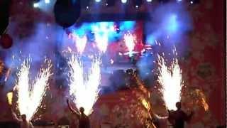 Свадьба в Малиновке 25.08.2012. Фаер-шоу