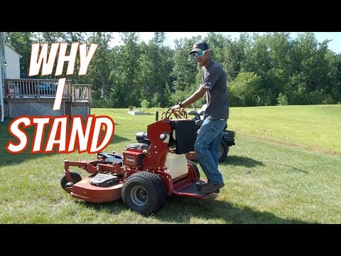 Why I Use Stand On Mowers