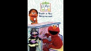Elmo's World: People In Your Neighborhood (2011 DVD)