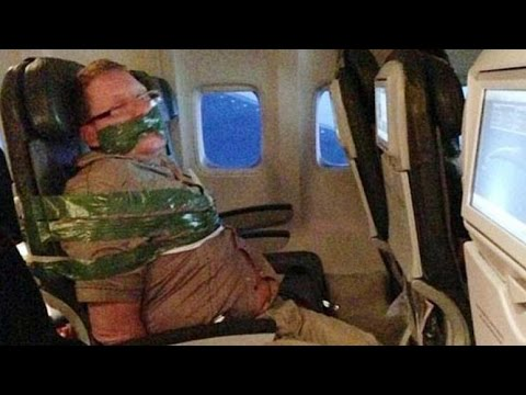 Things NOT to Do on Airplanes!