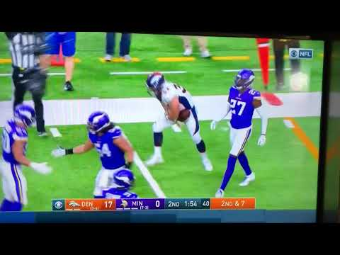 Andy Janovich Denver Broncos Dislocated Elbow Injury