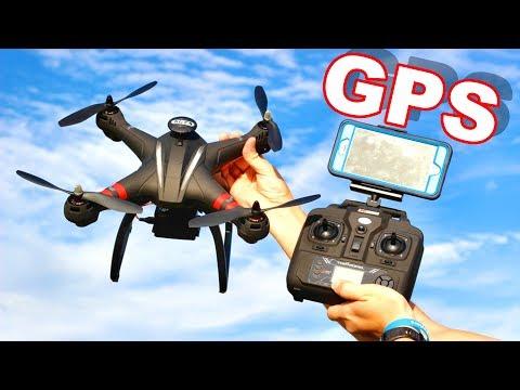 GPS Camera Drone Carries GoPro Action Cams - BAYANGTOYS X21 - TheRcSaylors