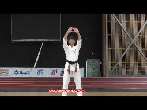 Kata Kyokushin-Kan -  Kanku (Kotaro Yamashita)