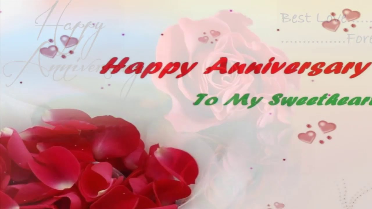 Wedding anniversary wishes anniversary messages for wife youtube