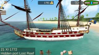 Hidden Port Locations How to Locate/Find The Pirate Caribbean Hunt